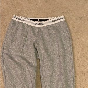 Calvin Klein fitted sweatpants